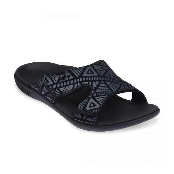 the spenco kholo tribal council...we mean slippers. great arch support and relief from foot pain. doesn't backstab you for a spot in the next episode of a reality tv series.