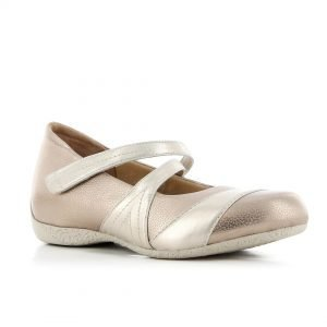 ziera xray in rosegold. comfort shoes.