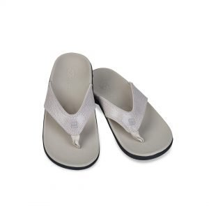 Yumi 2 flip flops with Arch Support, by Spenco Footwear.
