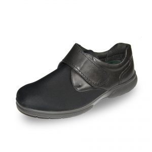 The Jason - a diabetic friendly stretchable shoe by DB Wider Fit Shoes. Now Available in Singapore at Footkaki.