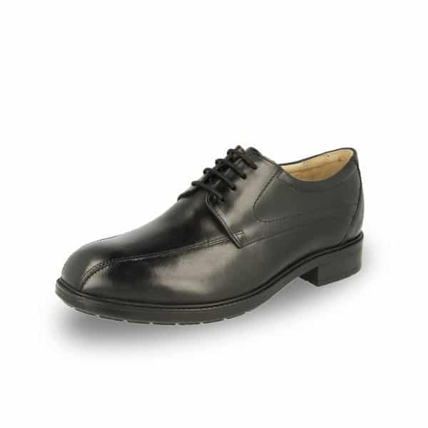 DB Wider Fit Shoes' Richmond in Black. An extra wide fitting and orthotic friendly men's formal shoe. Available in Singapore at Footkaki, a little shop that sells quality comfort shoes.