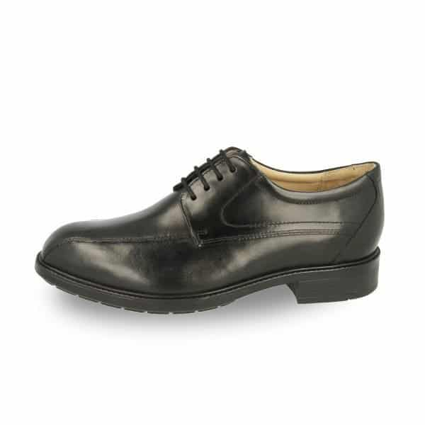 Side view of the Richmond, a stylish and orthotic friendly men's formal shoe by DB Wider Fit Shoes. Available in Singapore at Footkaki.
