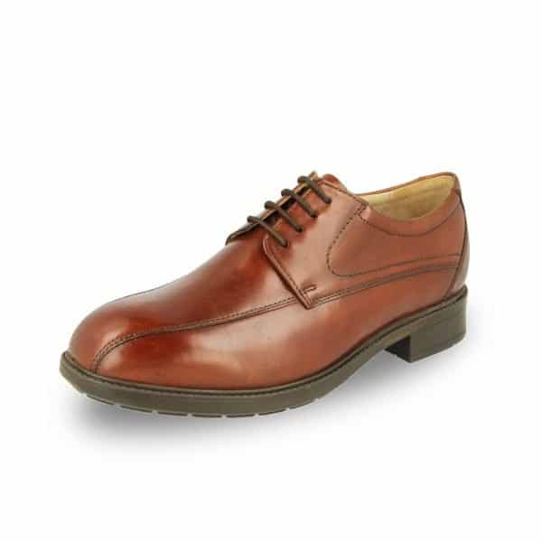 The Richmond by DB Wider Fit Shoes - an extra wide fitting and orthotic friendly men's formal shoe that is both stylish and comfortable. Available in Singapore at Footkaki, a little comfort shoes shop.