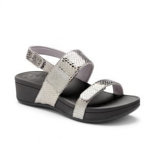 Pacific Bolinas orthopedic wedge ladies sandals by Vionic shoes. Available in Singapore at Footkaki.